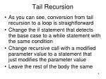 tail recursion4