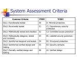 system assessment criteria10
