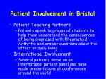 patient involvement in bristol41