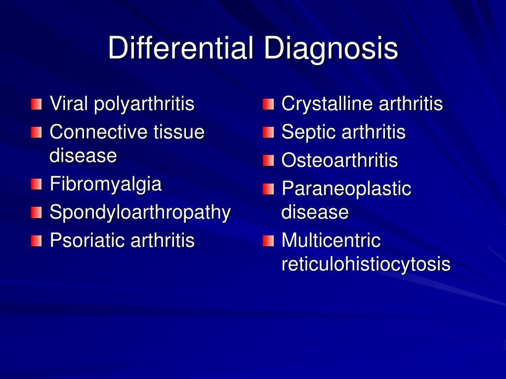 Viral polyarthritis