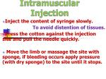 intramuscular injection36