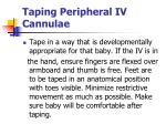 taping peripheral iv cannulae74