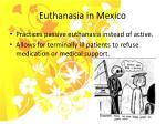 euthanasia in mexico
