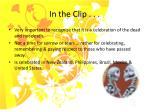 in the clip9