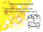 mexico funeral rituals