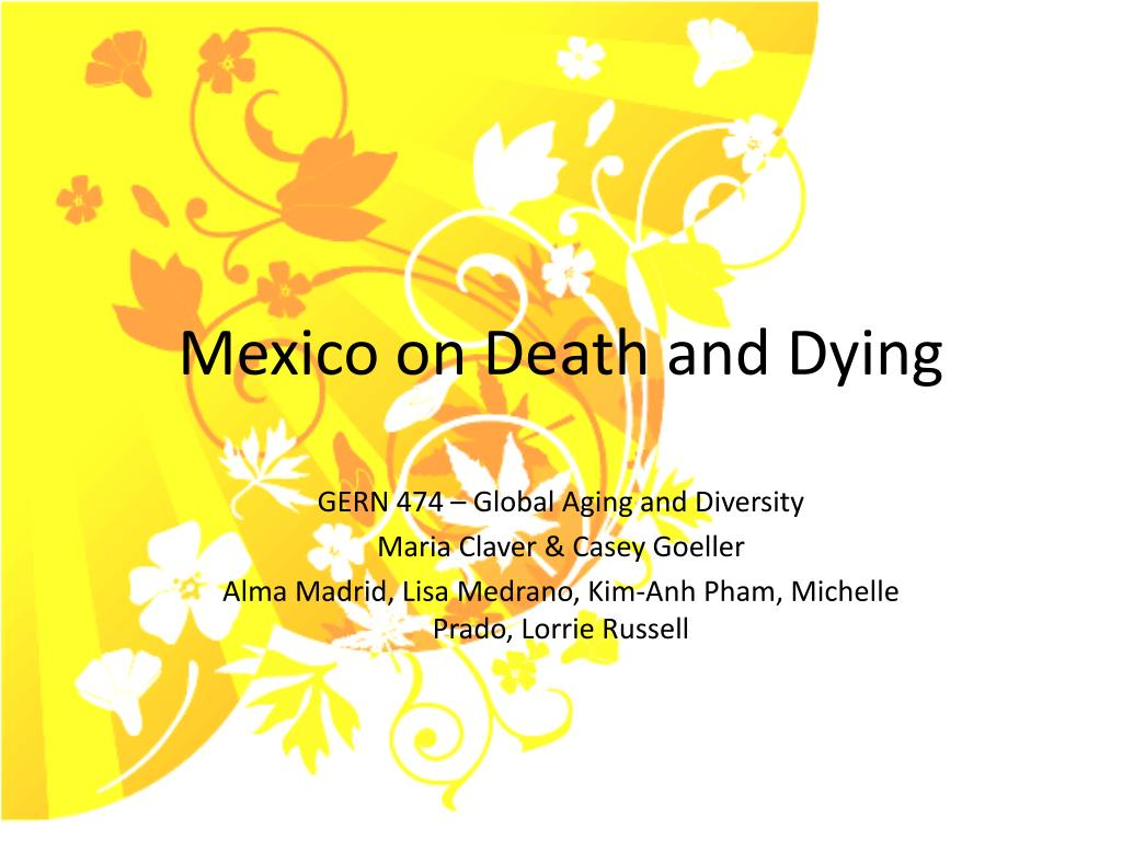 mexico on death and dying l.