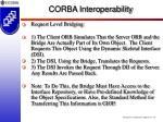 corba interoperability16