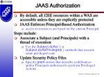 jaas authorization