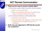 net remote communication54