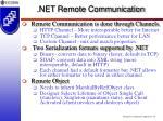net remote communication55