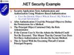 net security example