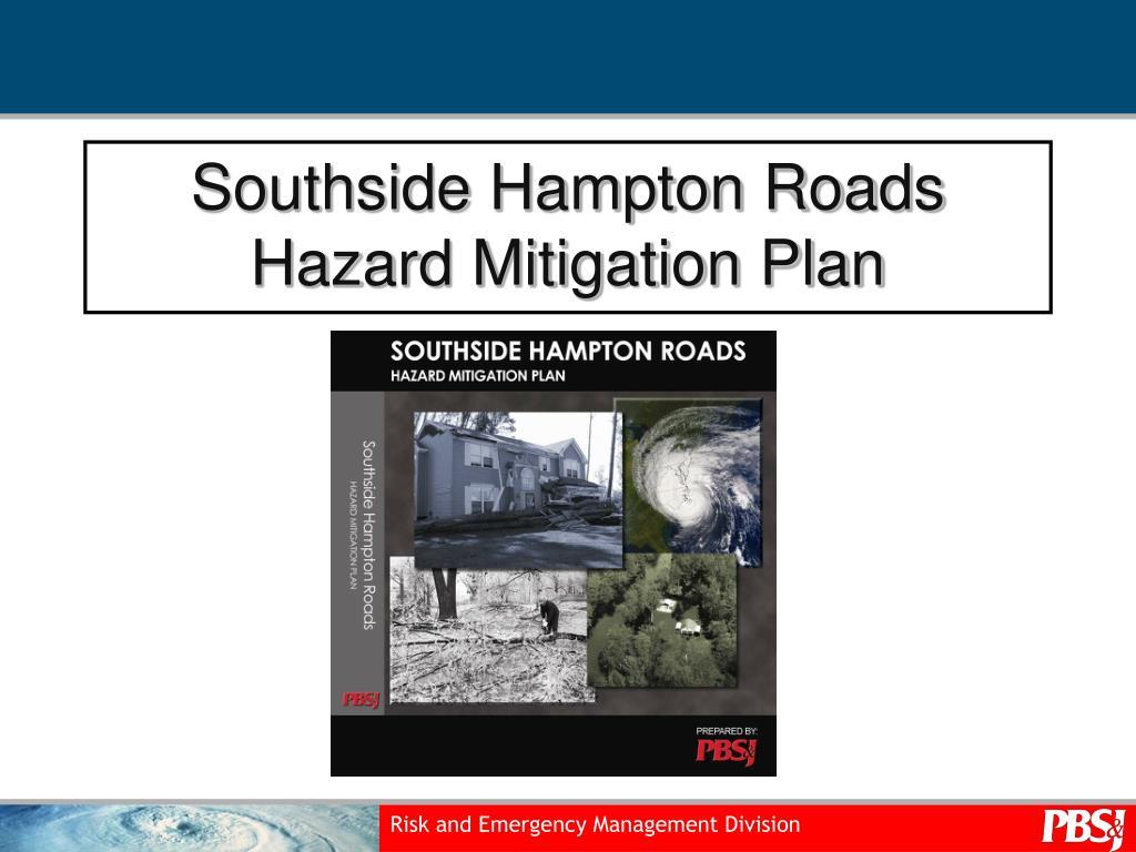 southside hampton roads hazard mitigation plan l.