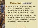 mentoring summary40