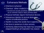 euthanasia methods