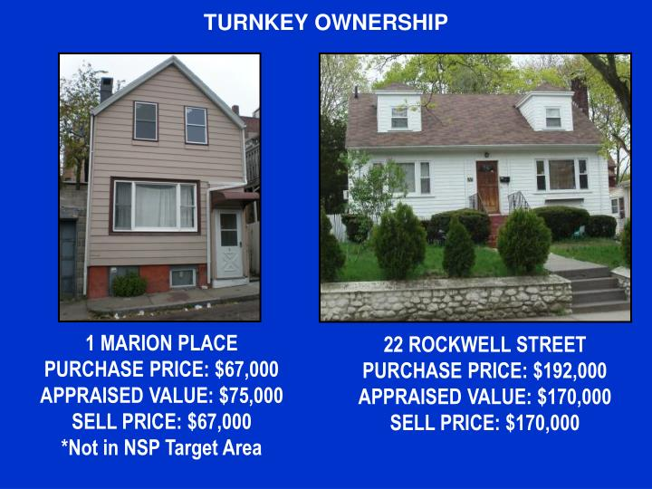 TURNKEY OWNERSHIP