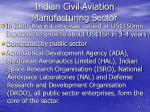 indian civil aviation manufacturing sector