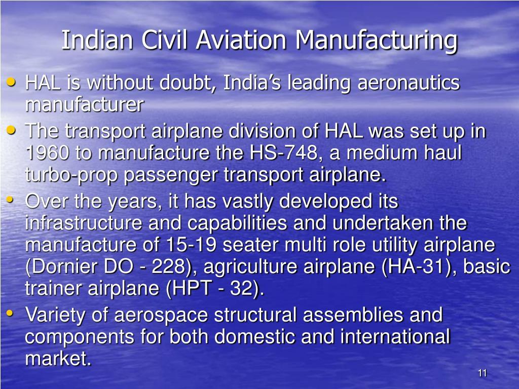 Indian Civil Aviation Manufacturing