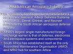 south african aerospace industry