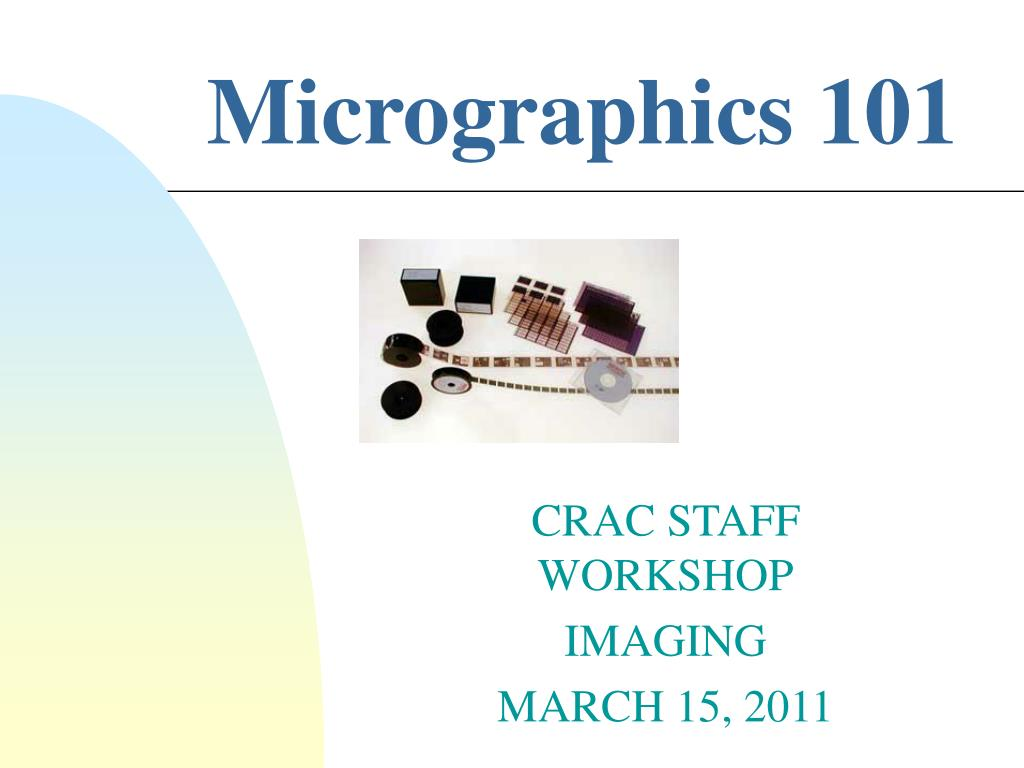 micrographics 101 l.