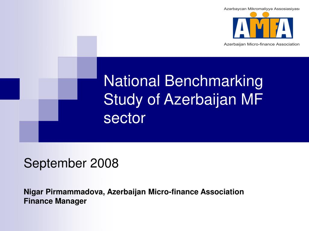 national benchmarking study of azerbaijan mf sector l.