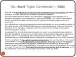 bouchard taylor commission 2008