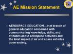 ae mission statement