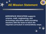 ae mission statement8