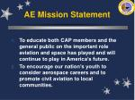 ae mission statement9