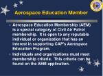 aerospace education member