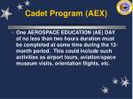 cadet program aex35