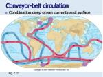 conveyor belt circulation
