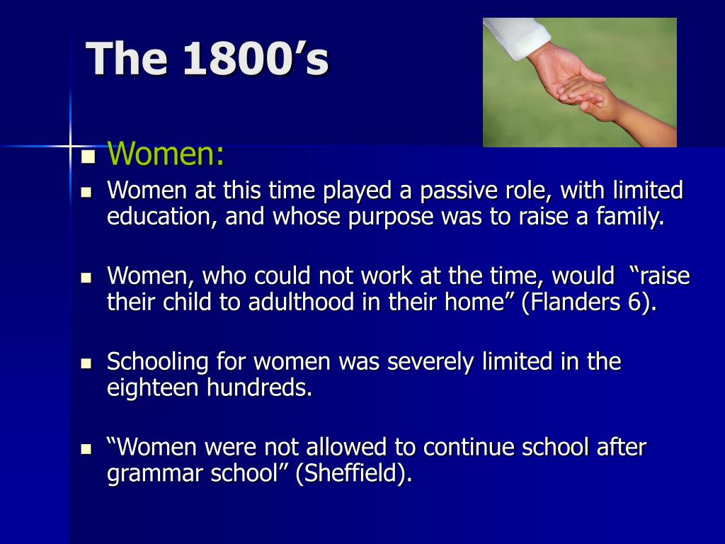 The 1800's