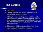 the 1800 s8