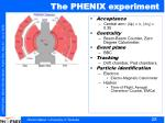 the phenix experiment