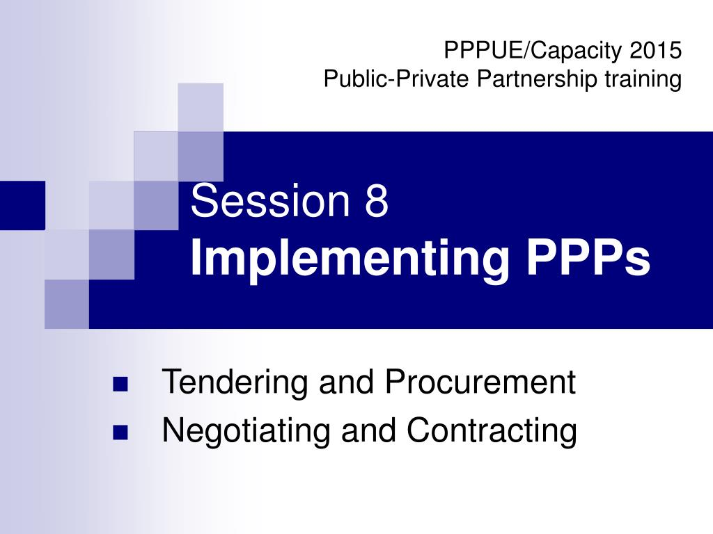 session 8 implementing ppps l.