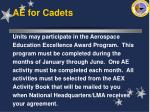 ae for cadets34