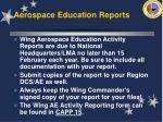 aerospace education reports60