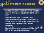 aex program in schools