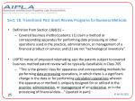 sect 18 transitional post grant review programs for business methods