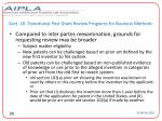 sect 18 transitional post grant review programs for business methods26