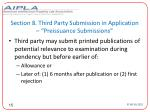 section 8 third party submission in application preissuance submissions15
