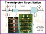 the antiproton target station