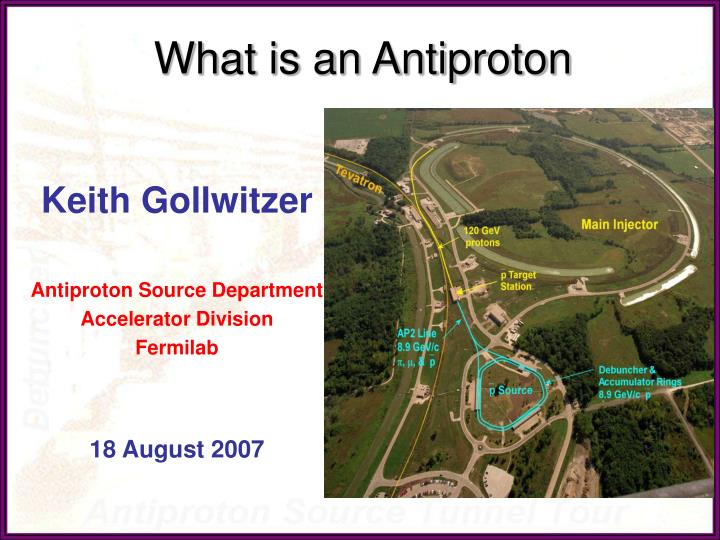 what is an antiproton n.