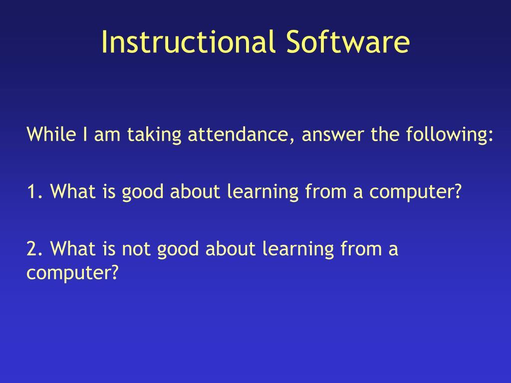 instructional software l.
