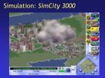 simulation simcity 3000