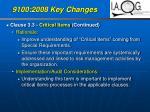 9100 2008 key changes30