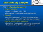 9100 2008 key changes36