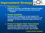 improvement strategy