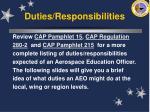 duties responsibilities22