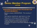 senior member program aepsm45